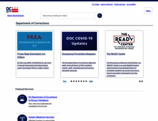 doc.dc.gov screenshot