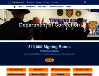 doc.delaware.gov screenshot