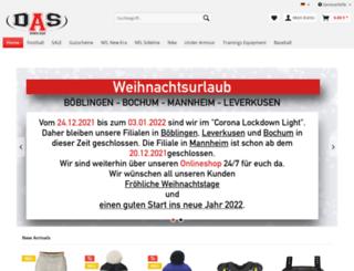 doca-sports.com screenshot