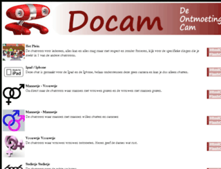 docam.nl screenshot