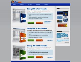 docanypdf.com screenshot