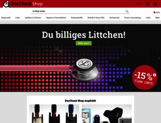 doccheckshop.de screenshot