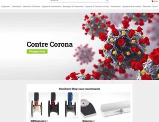 doccheckshop.fr screenshot