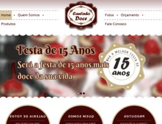 docecantinhodoce.com.br screenshot