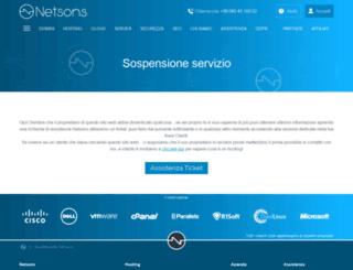 docemus.netsons.org screenshot