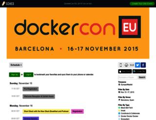 dockerconeu2015.sched.org screenshot