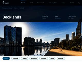 docklands.com screenshot
