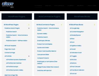 docs.a3rev.com screenshot
