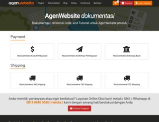 docs.agenwebsite.com screenshot