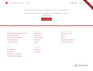 docs.angular-formly.com screenshot