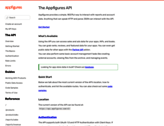 docs.appfigures.com screenshot