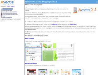 docs.avactis.com screenshot