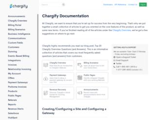 docs.chargify.com screenshot