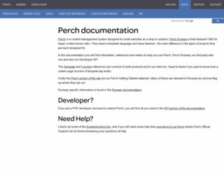docs.grabaperch.com screenshot