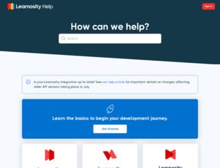 docs.learnosity.com screenshot