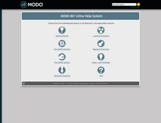 docs.luxology.com screenshot