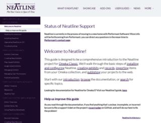 docs.neatline.org screenshot
