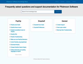 docs.pilotmoon.com screenshot