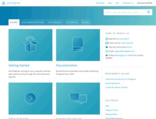 docs.pinegrow.com screenshot