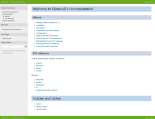 docs.slimerjs.org screenshot