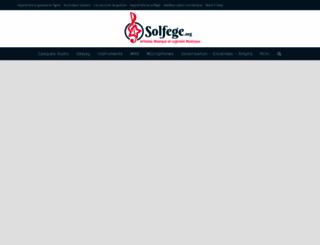 docs.solfege.org screenshot
