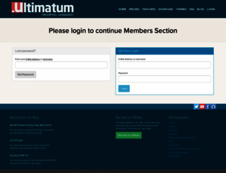 docs.ultimatumtheme.com screenshot