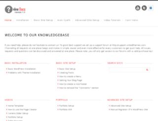 docs.unitedthemes.com screenshot