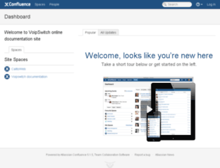 docs.voipswitch.com screenshot