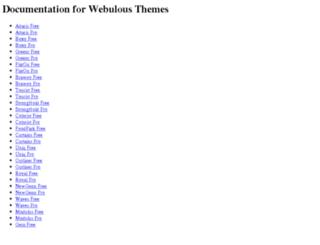 docs.webulous.in screenshot