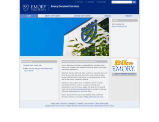 docservices.emory.edu screenshot