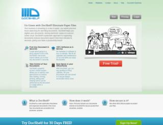docshelf.com screenshot