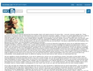 docspump.com screenshot