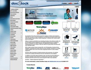 docstock.com screenshot