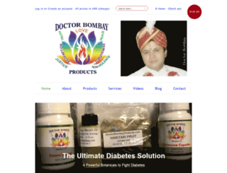 doctor-bombay-products.myshopify.com screenshot