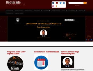 doctoradoingenieria.udistrital.edu.co screenshot