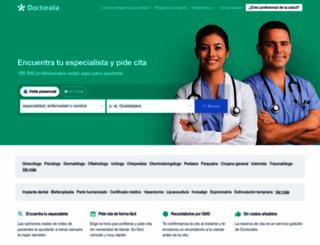 doctoralia.com.mx screenshot