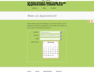 doctordelhi.appointmentagent.com screenshot