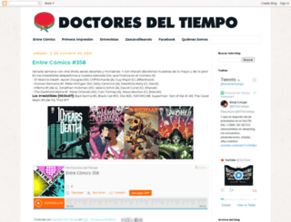 doctoresdeltiempo.com screenshot