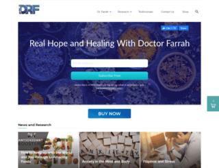 doctorfarrah.com screenshot