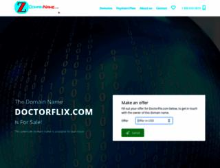 doctorflix.com screenshot