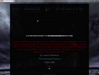 doctorjamespwickstrom.blogspot.com screenshot