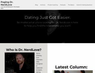 doctornerdlove.com screenshot