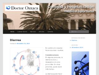 doctoroaxaca.com screenshot