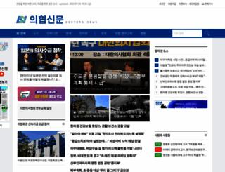 doctorsnews.co.kr screenshot
