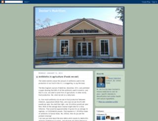 doctorsnutrition1.blogspot.com screenshot