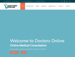 doctorsonline.ng screenshot