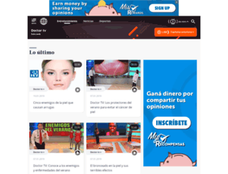 doctortv.americatv.com.pe screenshot