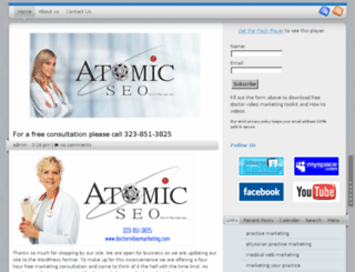 doctorvideomarketing.com screenshot
