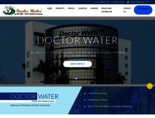 doctorwaterin.com screenshot