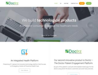 doctrz.com screenshot